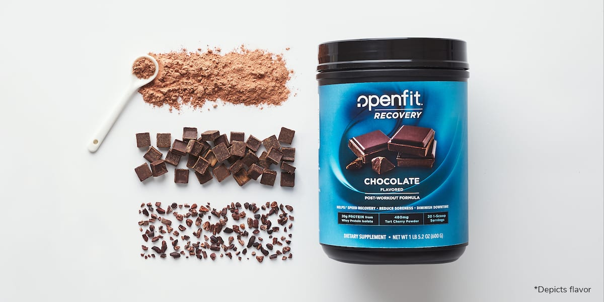 openfit recovery - recovery and ingredients