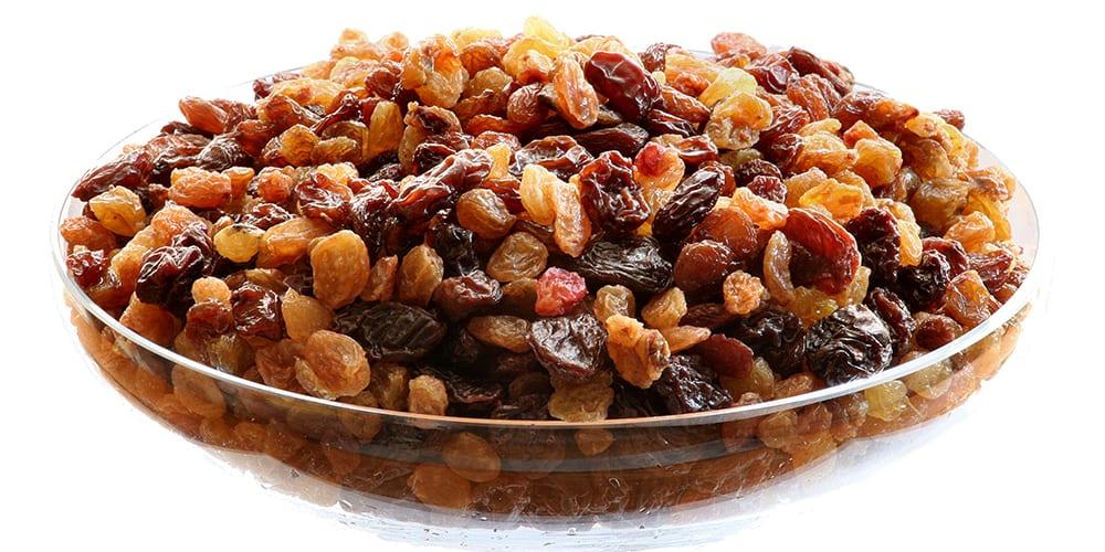 raisins | foods high in potassium