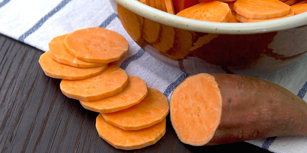 sweet potatoes | foods high in potassium