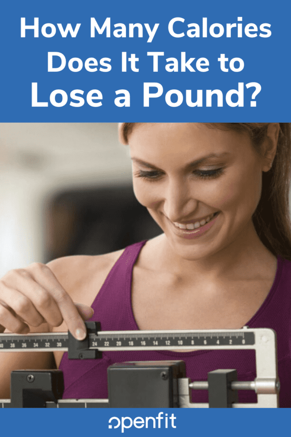 how to lose a pound - pin image