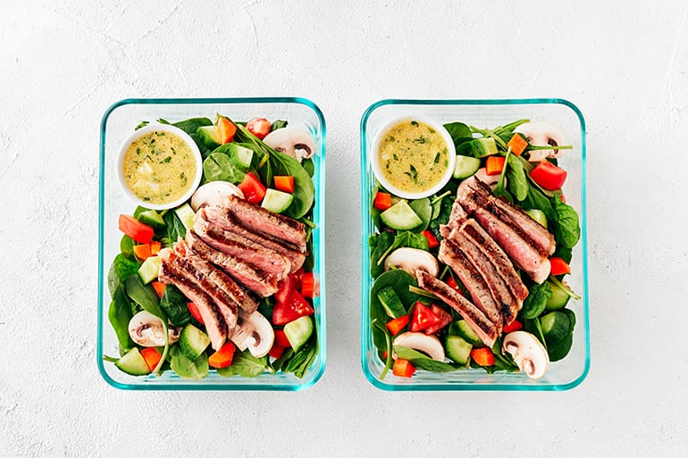 Tough Mudder T-Minus 30 Meal Prep Dinner