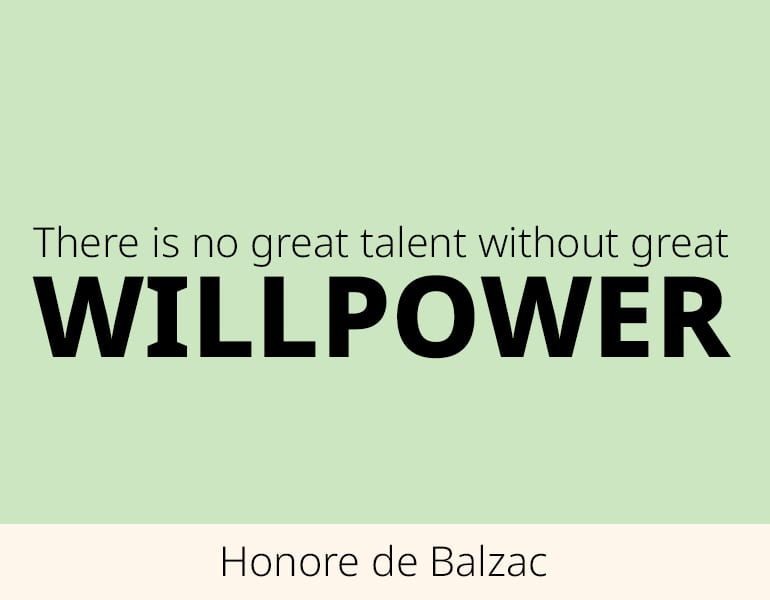 willpower quotes