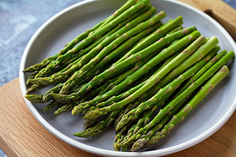 100 Calories of Vegetables - Asparagus