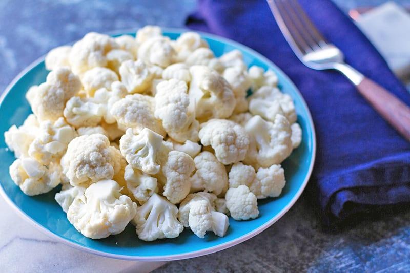 100 Calories of Vegetables - Cauliflower
