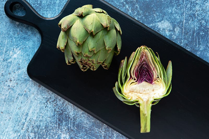 100 Calories of Vegetables - Artichoke
