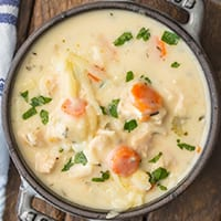 creamy soup emotional eating
