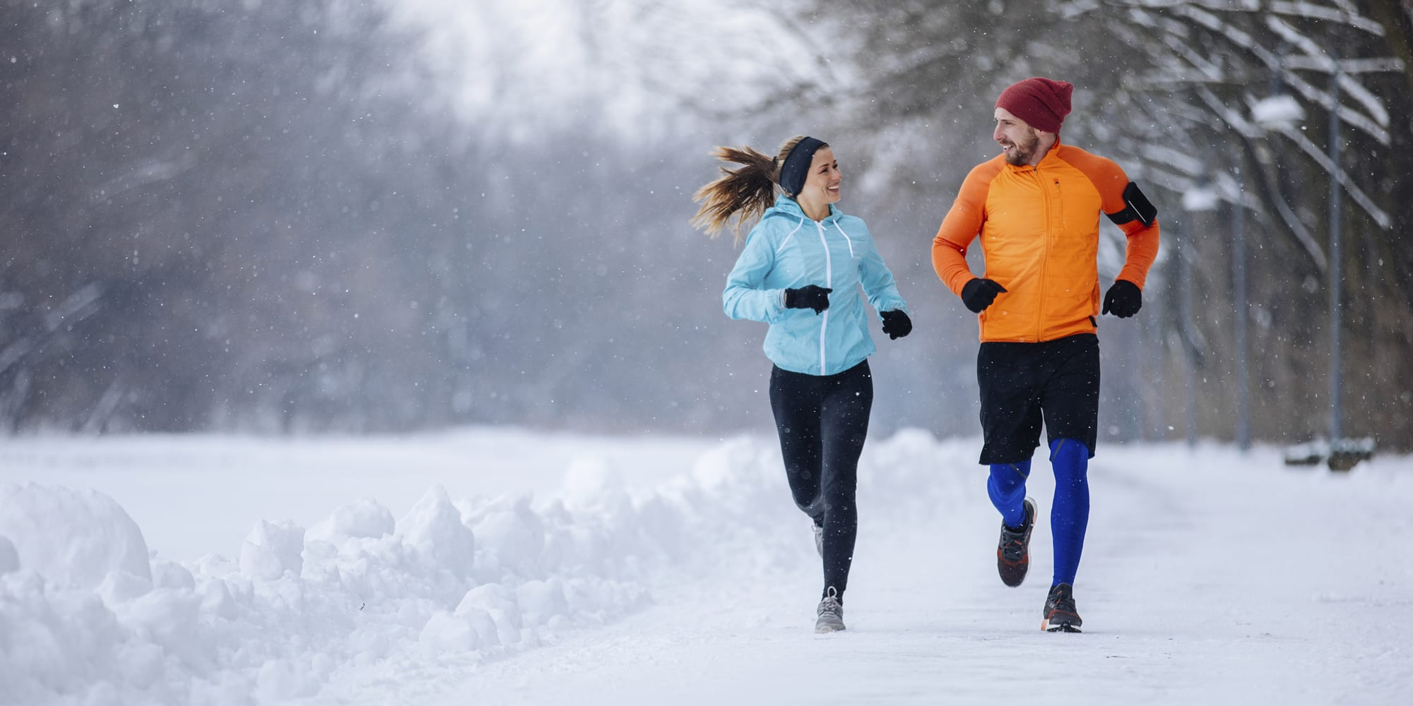 Outdoor exercises you can do this winter