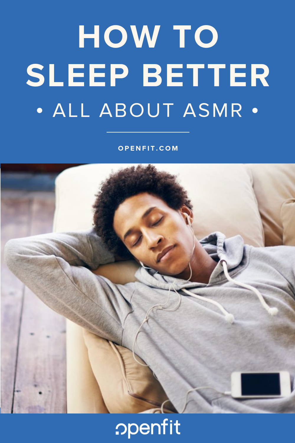 how to sleep better asmr