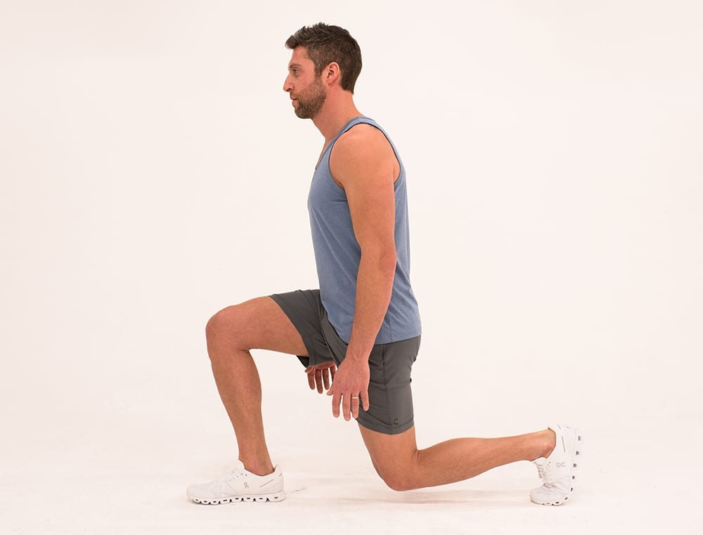 static lunge isometric exercises