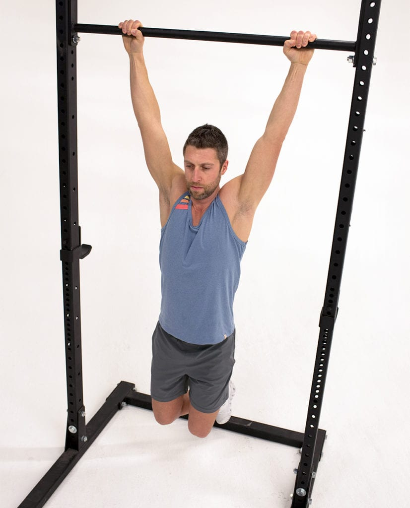 dead Hang isometric exercises