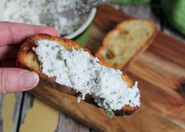 cottage cheese recipes- cheese spread