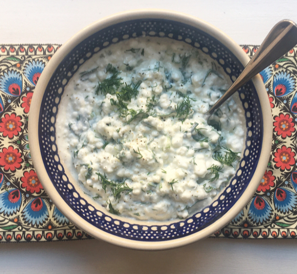 cottage cheese recipes- cheese dip