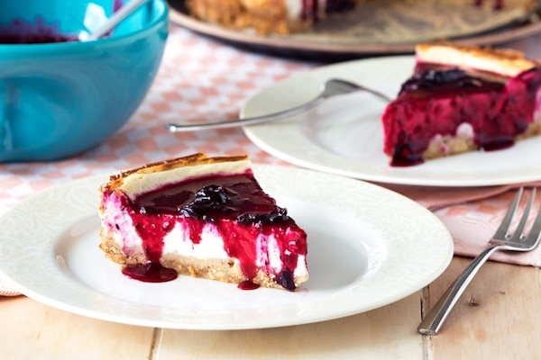 cottage cheese recipes- cheesecake