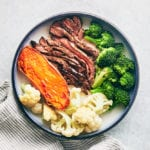 T-Minus 30 Recipes - Ginger Soy Flank Steak