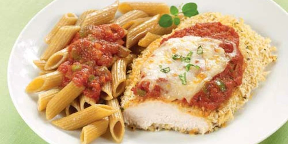 guiltless chicken parmesan clean eating mag