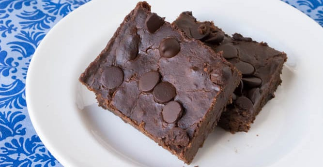 sugar free stevia brownies
