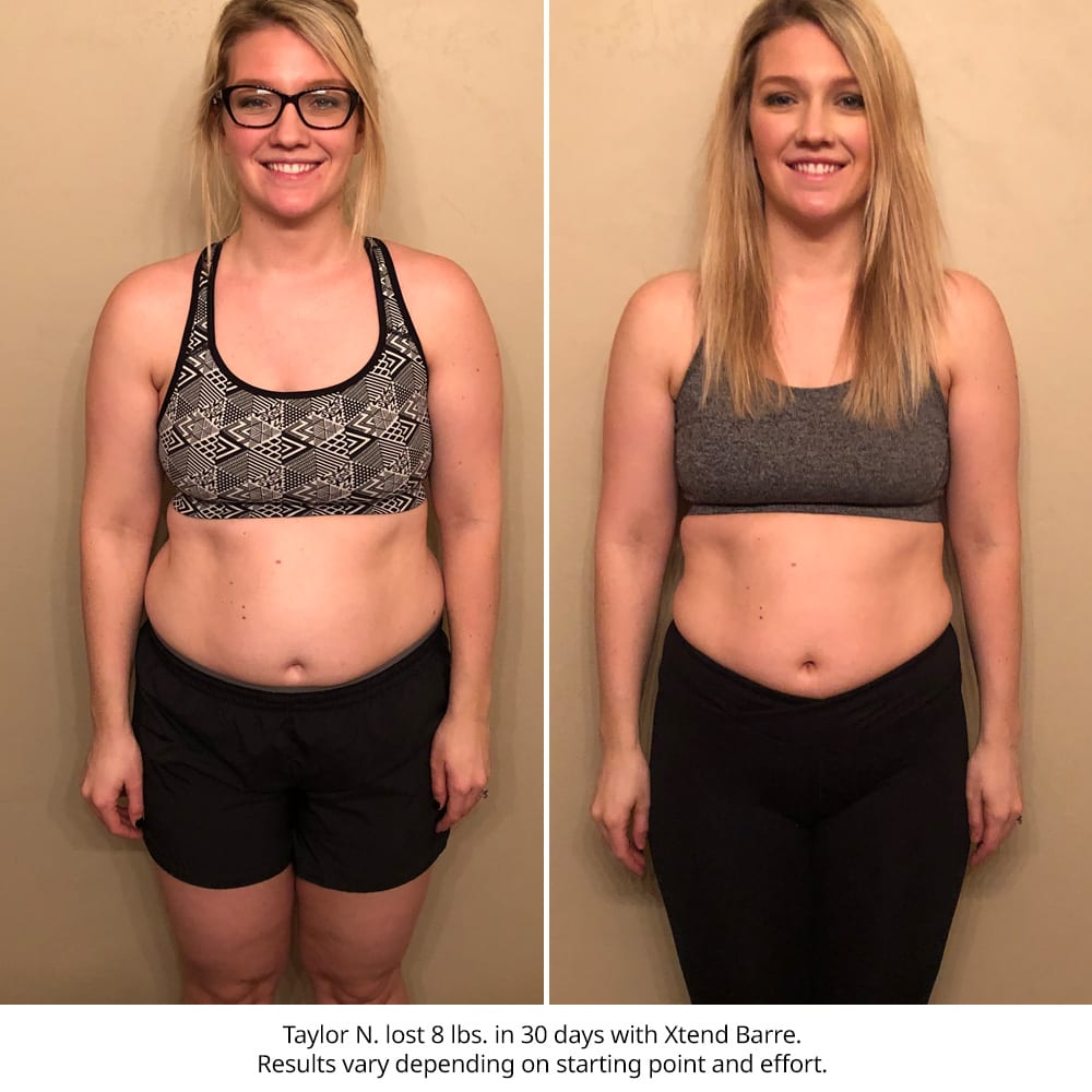 Xtend Barre Results - Openfit