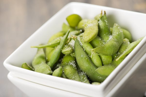 best food to eat before bed- edamame