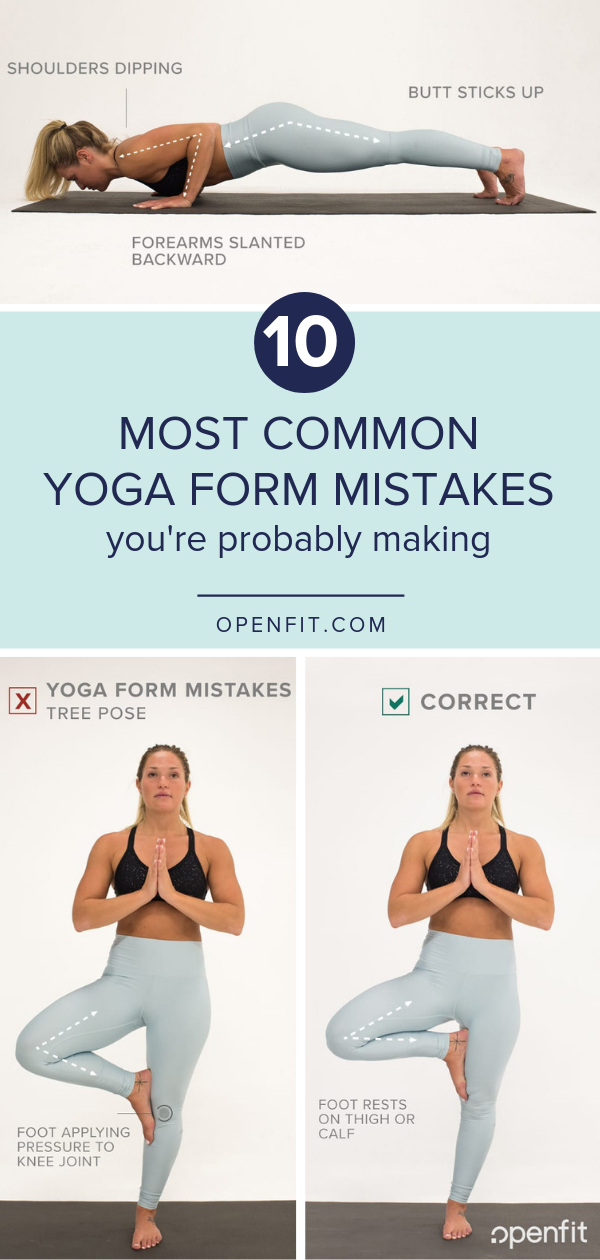 Common Yoga Form Mistakes