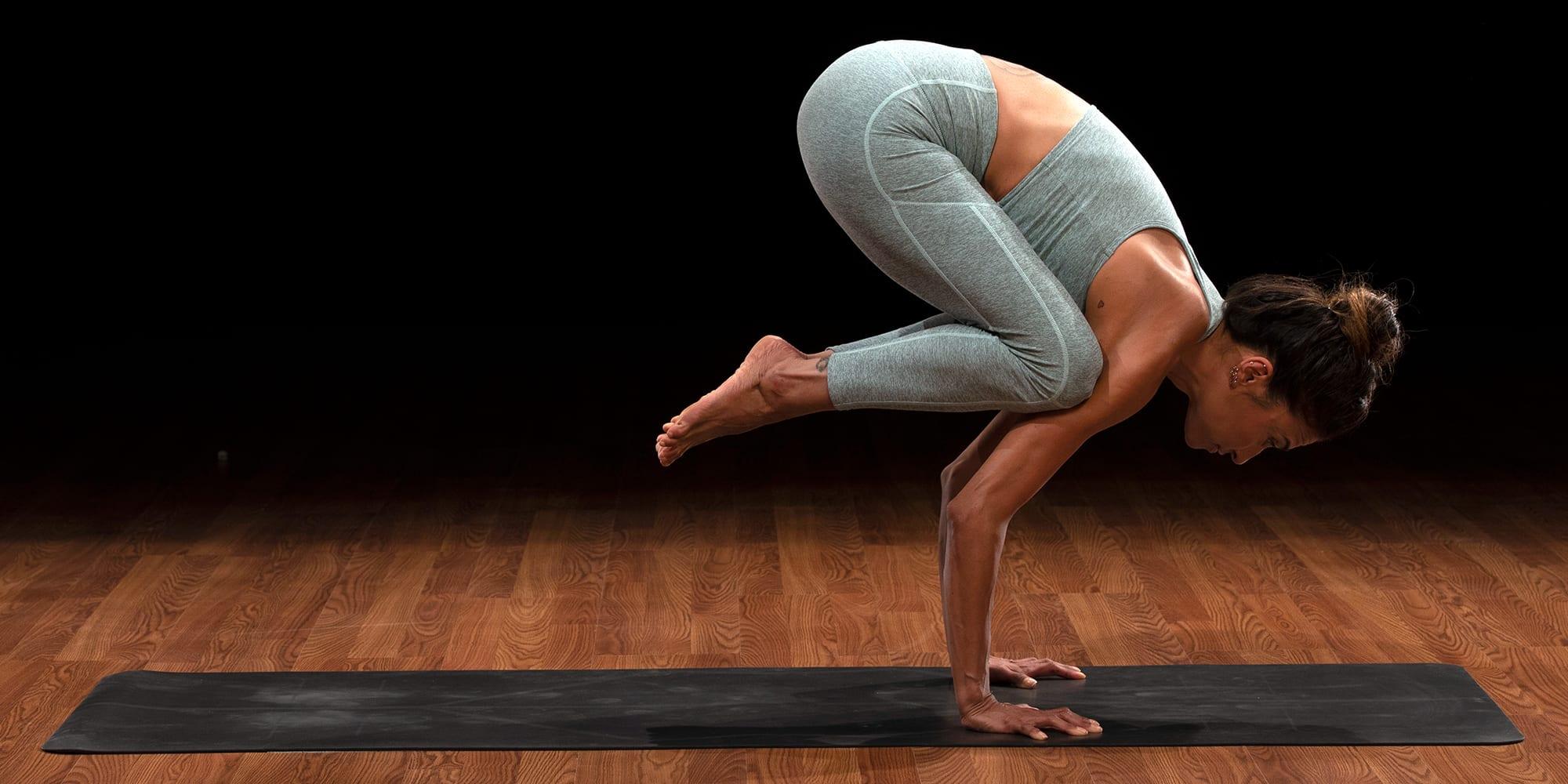 crow pose yoga bakasana micki duran yoga52