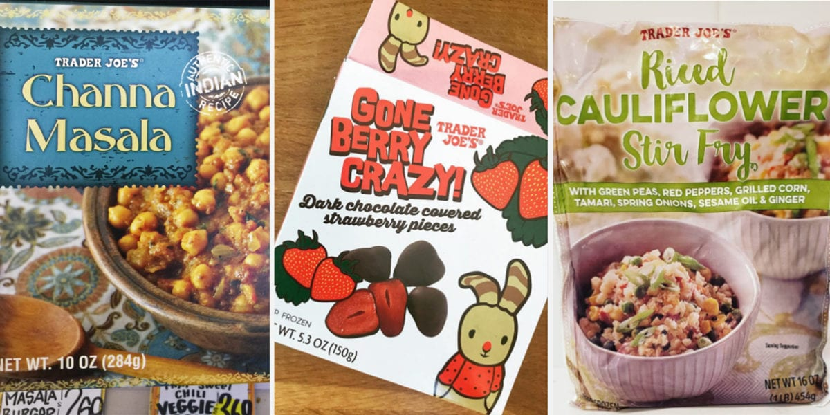 15 of the Healthiest Frozen Foods from Trader Joe's