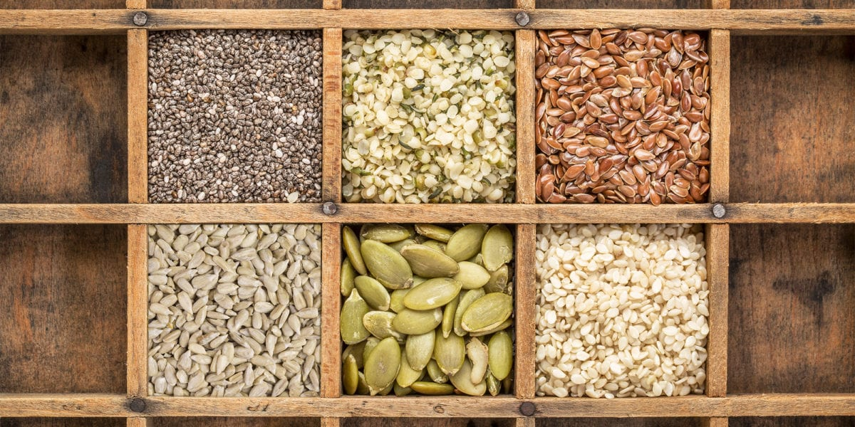 6 Edible Seeds That Are Bursting With Nutrients