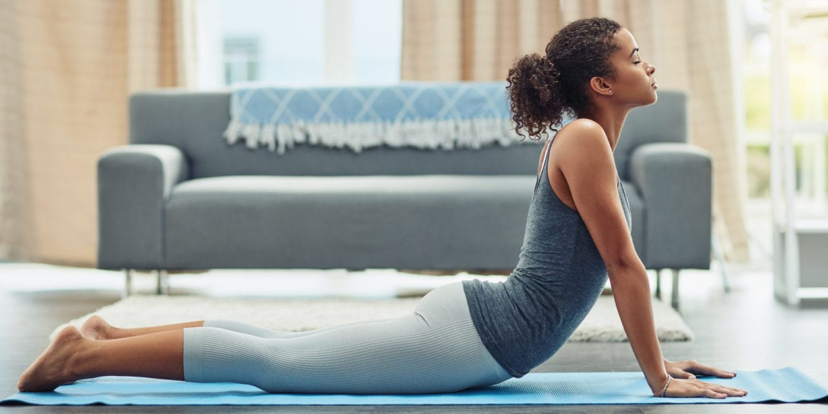 How to Check Your Form When You're Doing Yoga at Home