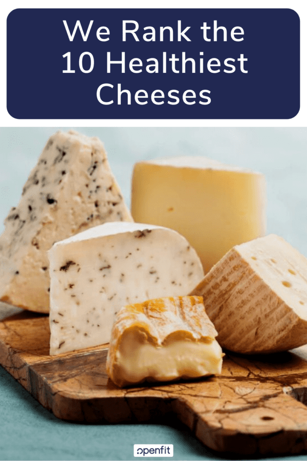 healthiest cheese pin image