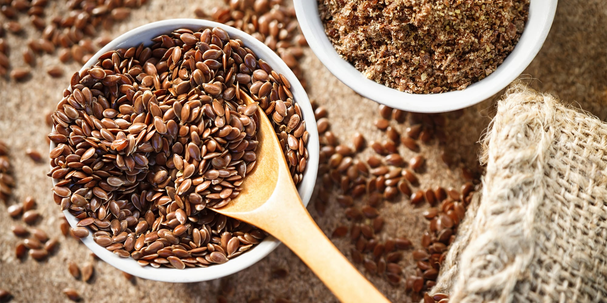 foods to fight fatigue - flax seeds