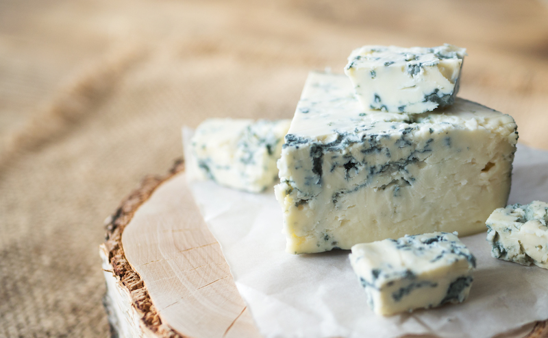 healthiest cheese- blue cheese