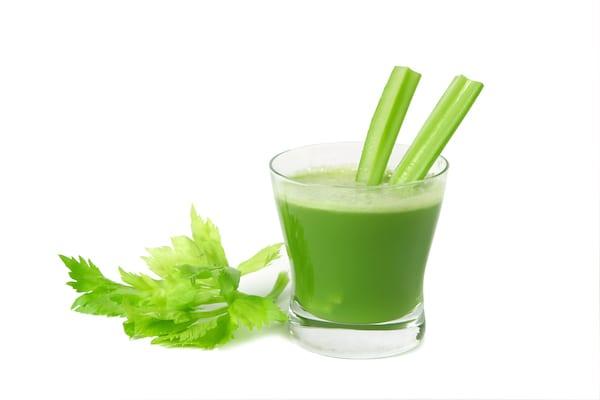 celery juice - glass of celery juice