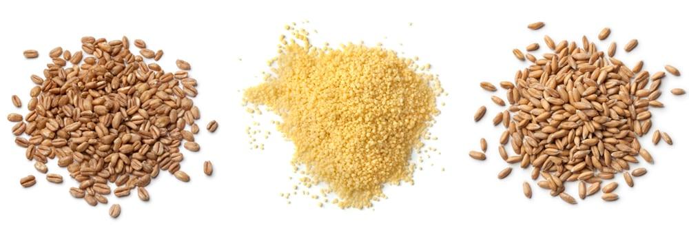 farro couscous spelt - not gluten free