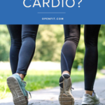 is walking cardio
