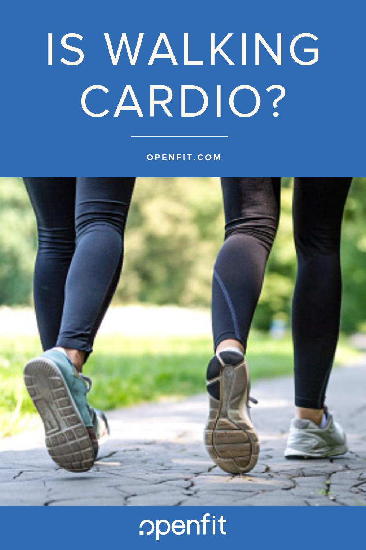 is walking cardio
