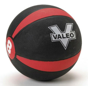 valeo medicine ball 8 lb - building a home gym