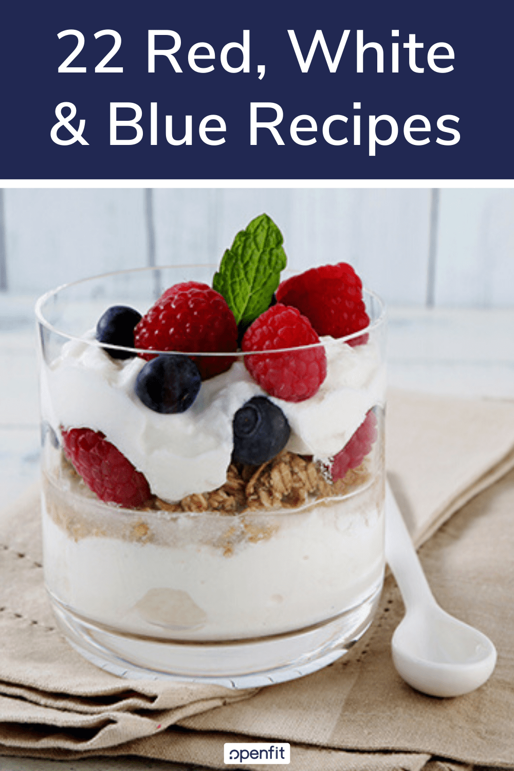 red white blue recipes pin images