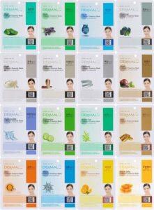 Dermal Korea Collagen Essence Facial Sheet Mask Combo Pack--K Beauty Products