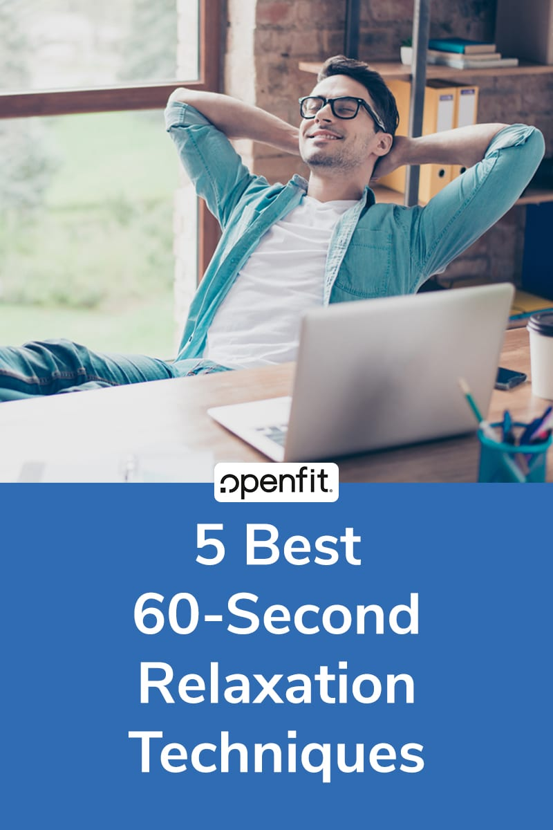 60 second relaxation techniques pin image