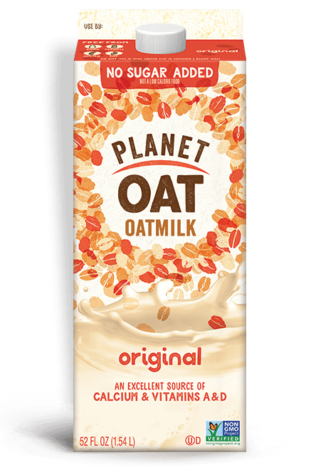 best oat milk brand - planet oat