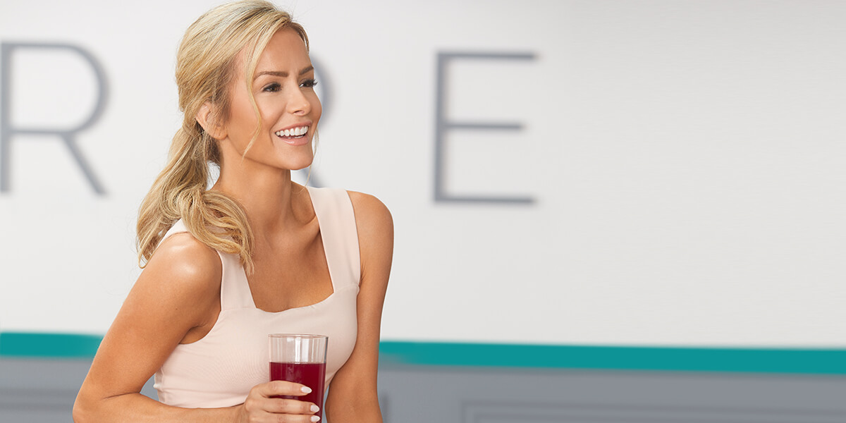 barre body - andrea drinking fuel