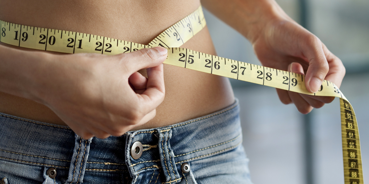 reverse dieting - measuring waist