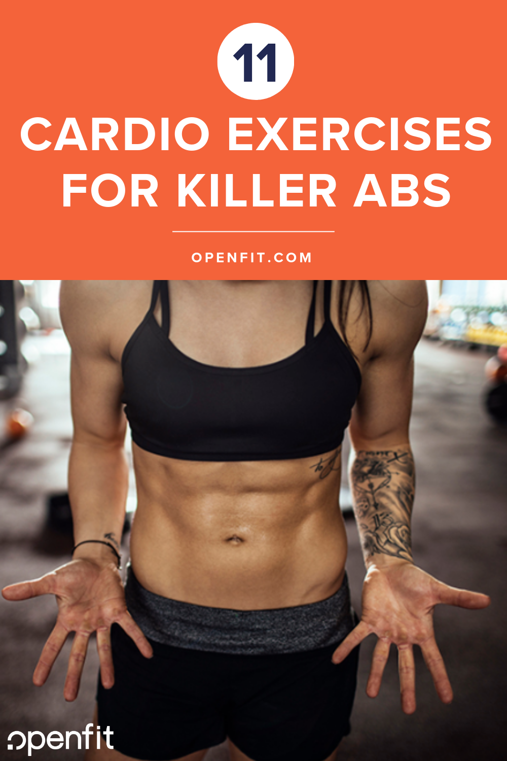 cardio exercises that will challenge your abs