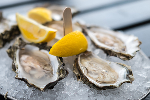 oysters - foods high in zinc