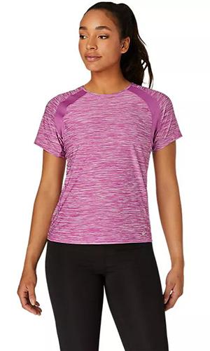 asics women's running shirt | summer workout clothes