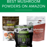 mushroom powders on amazon