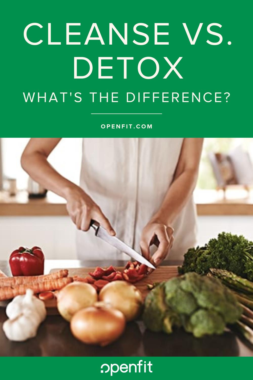 cleanse vs detox