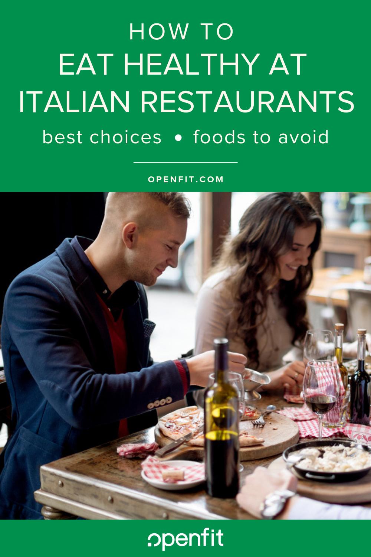 healthy italian options