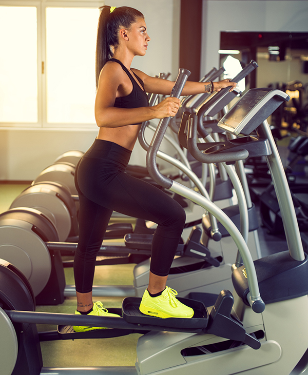 Low Impact Cardio Workout - Elliptical