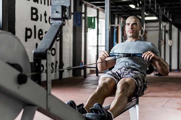 Low Impact Cardio Exercise - Rowing
