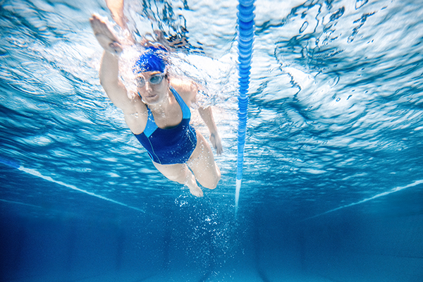 Low Impact Cardio Workout - Swimming